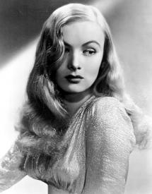 Veronica Lake in a sultry mood]