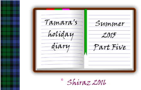 Tamara's Summer Diary - A Tommy & Tamara Interlude