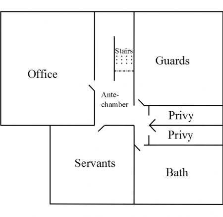 First Upper Floor Layout (English)