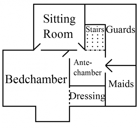 Second Upper Floor, First Layout (English)